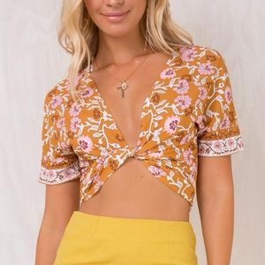 New Sweetest Thing Wrap Top